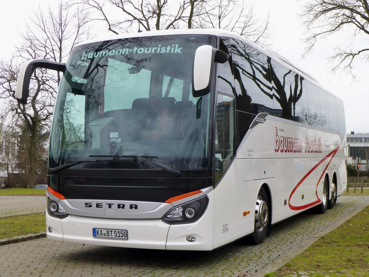 setra s 516 hd baumann mannheim bus. Black Bedroom Furniture Sets. Home Design Ideas