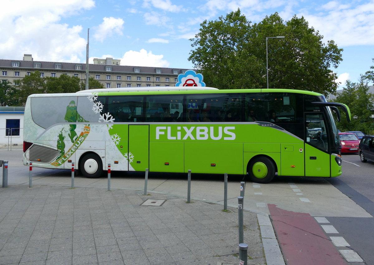 flixbus ankunft zob berlin