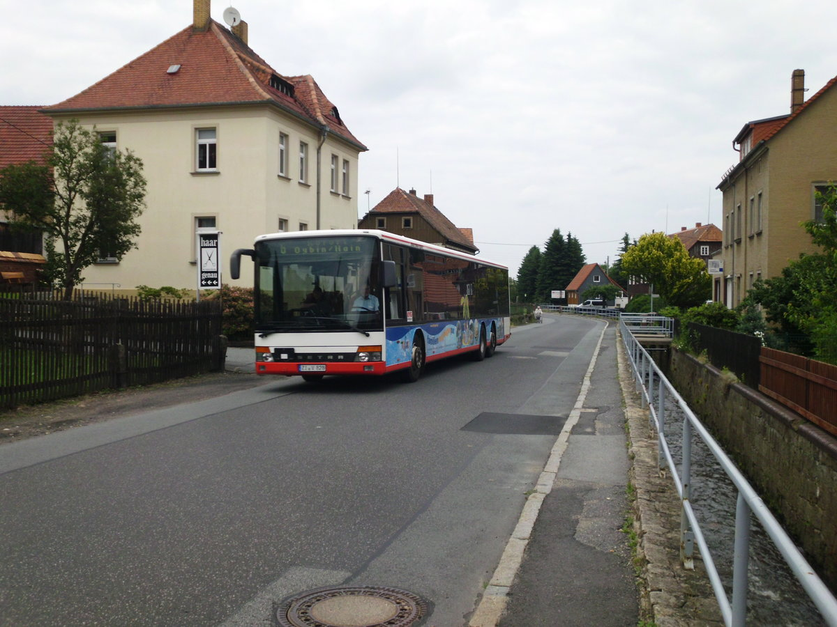 Setra S319 NF am 27.06.2013 in Olbersdorf