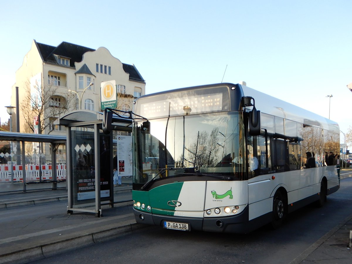Solaris Alpino 8,9 LE, Busbetrieb Anger, Potsdam 23.Nov.2020