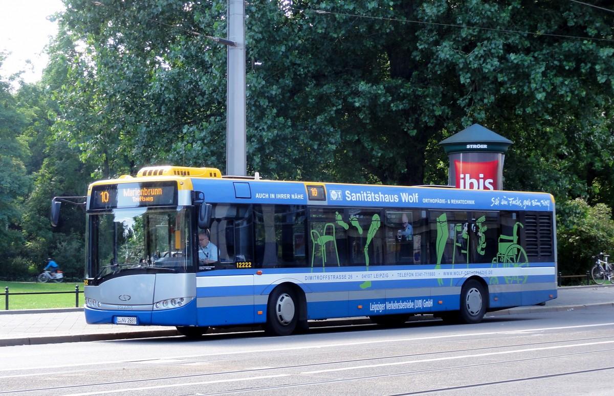 Solaris urbino linienbus von den lvb in leipzig beim for Ikarus frankfurt
