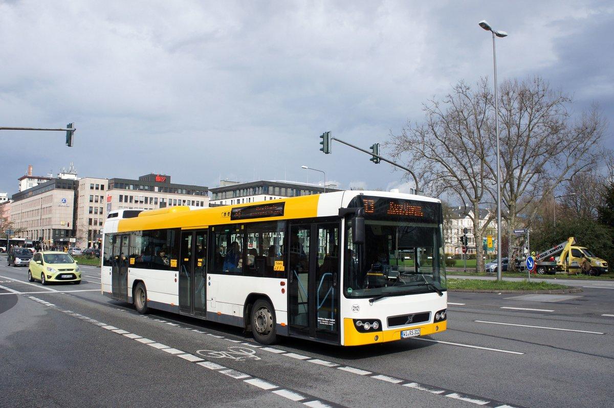 Bus Wiesbaden Mainz