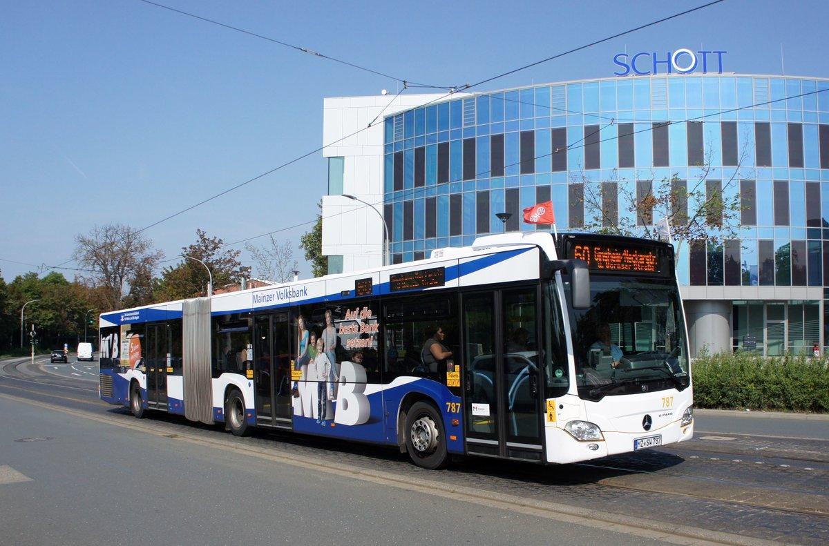 bus mainz setra s 415 le business vom omnibusbetrieb karl. Black Bedroom Furniture Sets. Home Design Ideas