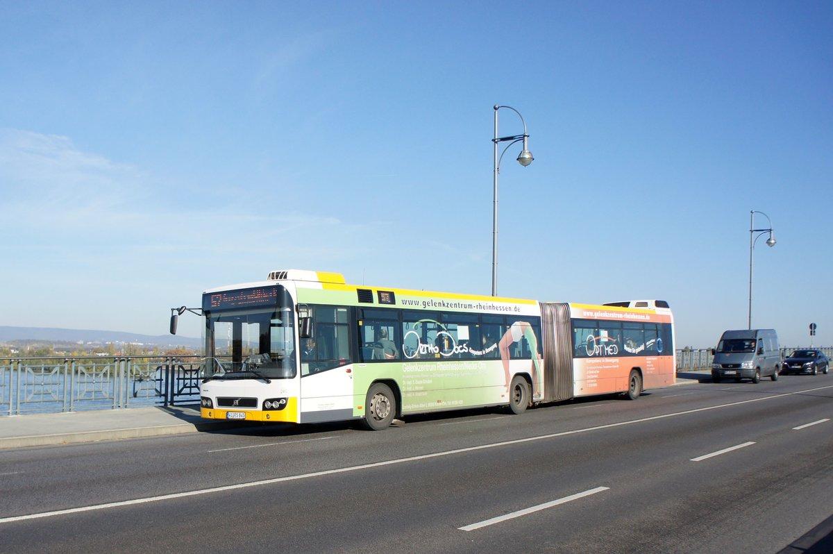 stadtbus mainz volvo 7700 gelenkbus von autobus sippel gmbh aufgenommen im november 2016 auf. Black Bedroom Furniture Sets. Home Design Ideas