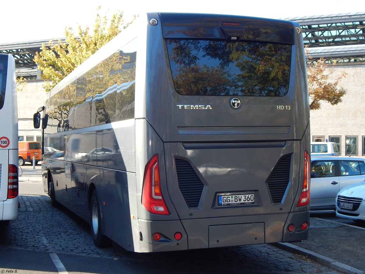 Temsa HD13 von BusWorld International aus Deutschland in Berlin am 31.10.2018