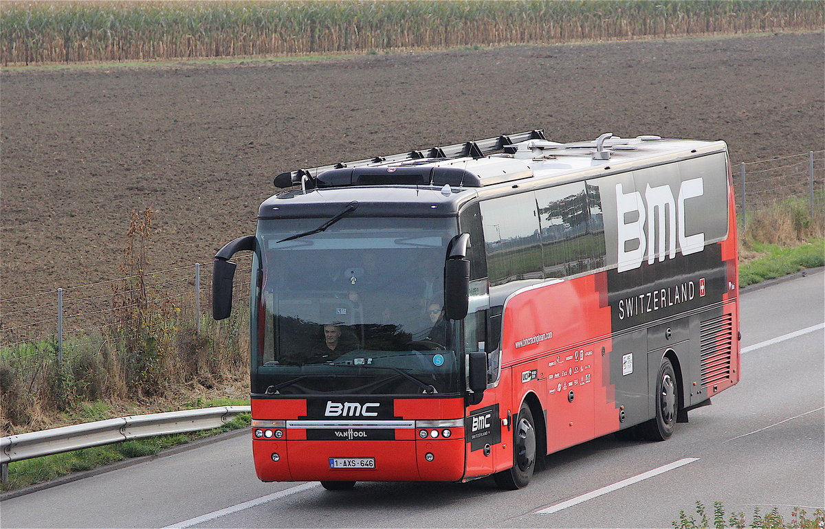 van Hool Alicron BMC Cycling Team, Oensingen novembre 2016 