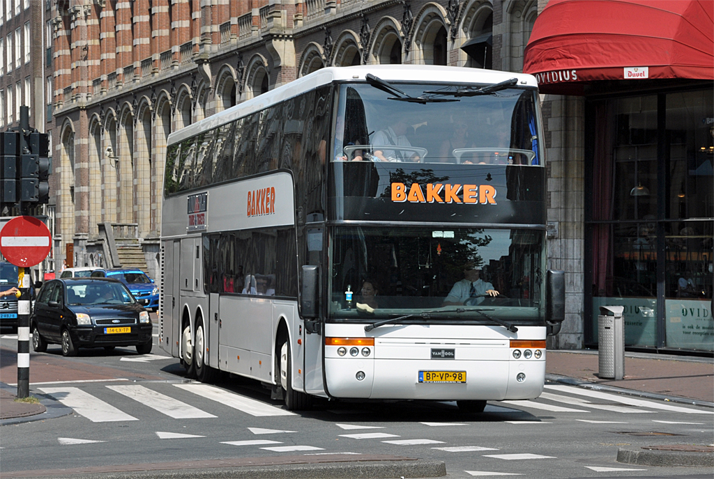 van hool td 927 astromega von bakker in amsterdam bus. Black Bedroom Furniture Sets. Home Design Ideas
