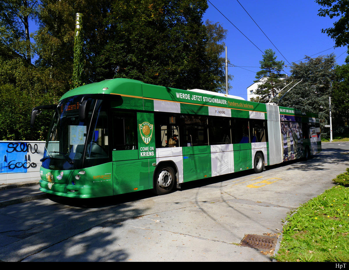 VBL - Trolleybus Nr.230 unterwegs in Luzern am 27.09.2018