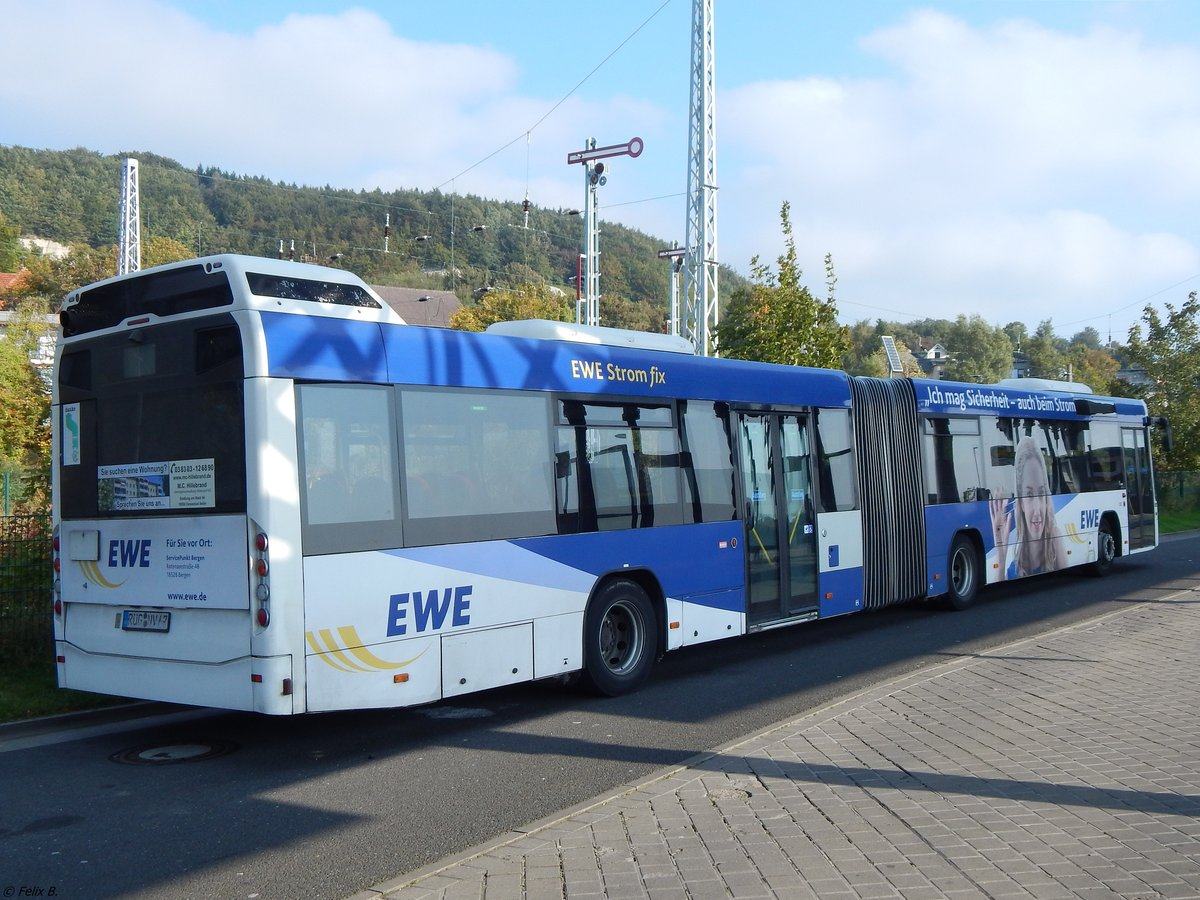 Volvo 7700 der VVR in Sassnitz am 30.09.2017