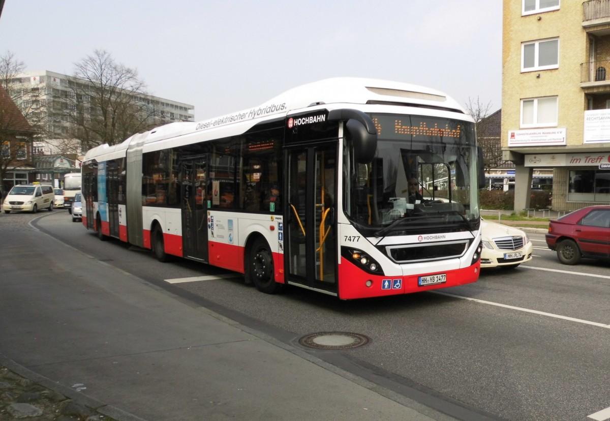 volvo 7900 lh hybrid hha 7477 auf linie m4 am eidelstedter platz 10 bus. Black Bedroom Furniture Sets. Home Design Ideas