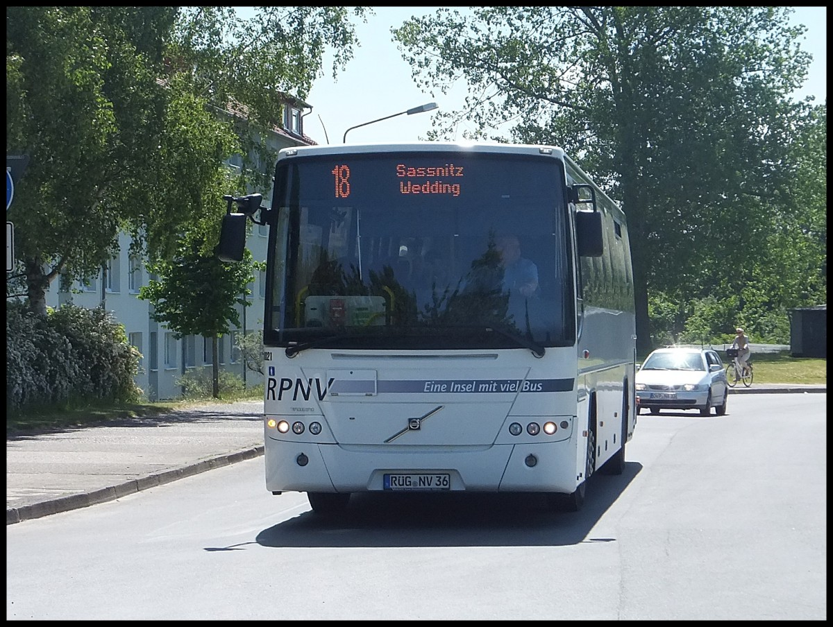 Volvo 8700 der RPNV in Sassnitz am 11.06.2013