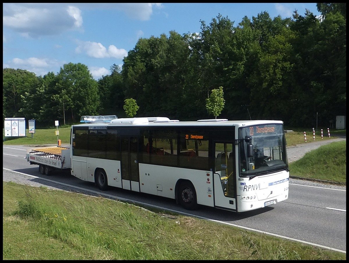 Volvo 8700 der RPNV in Sassnitz am 16.06.2013