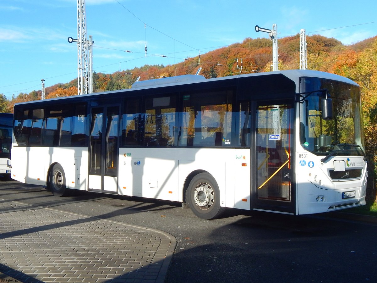 Volvo 8900 der VVR in Sassnitz am 21.10.2018