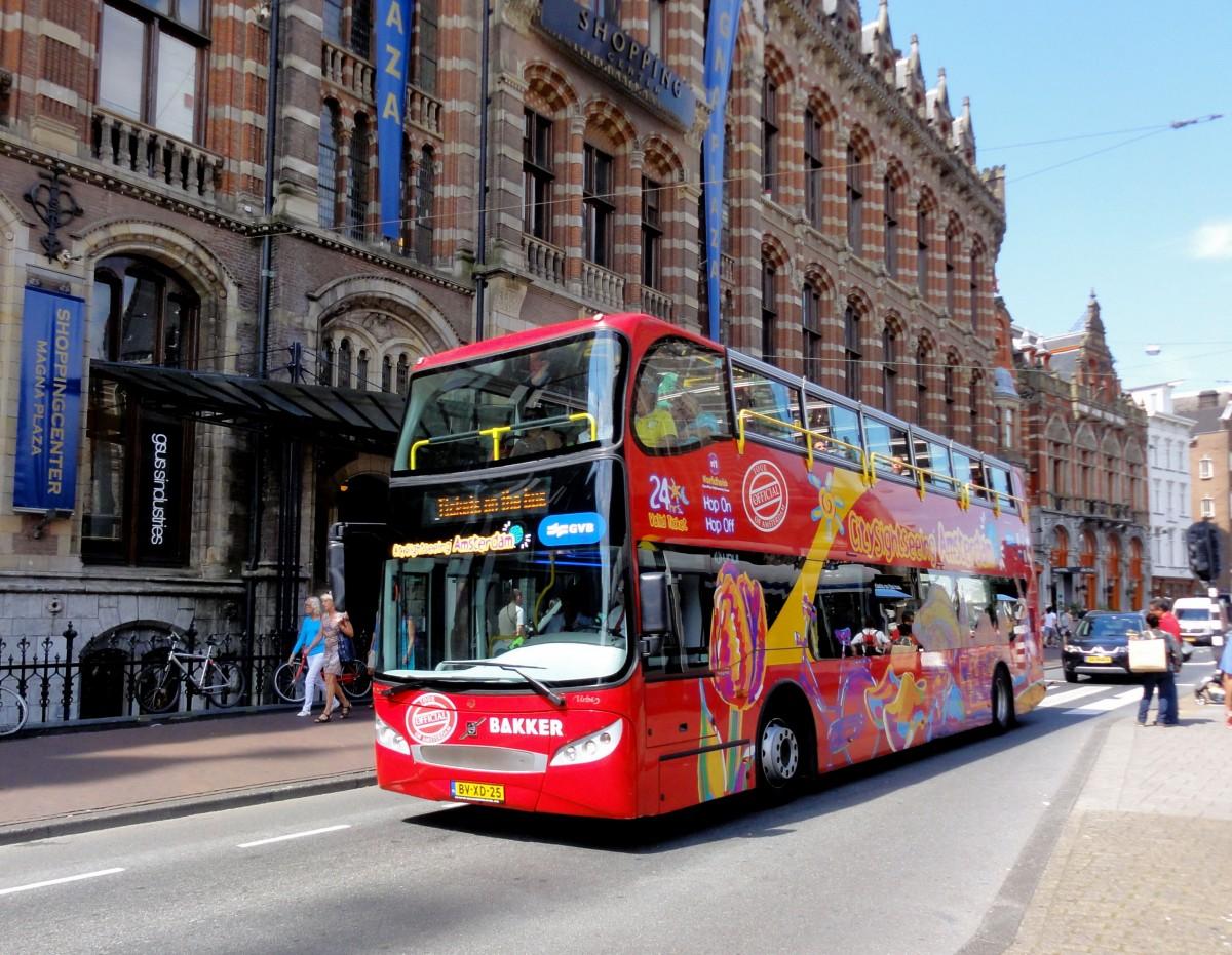 volvo unvi b9tl stockbus f r sighseeing touren im juli 2014 in amsterdam gesehen bus. Black Bedroom Furniture Sets. Home Design Ideas
