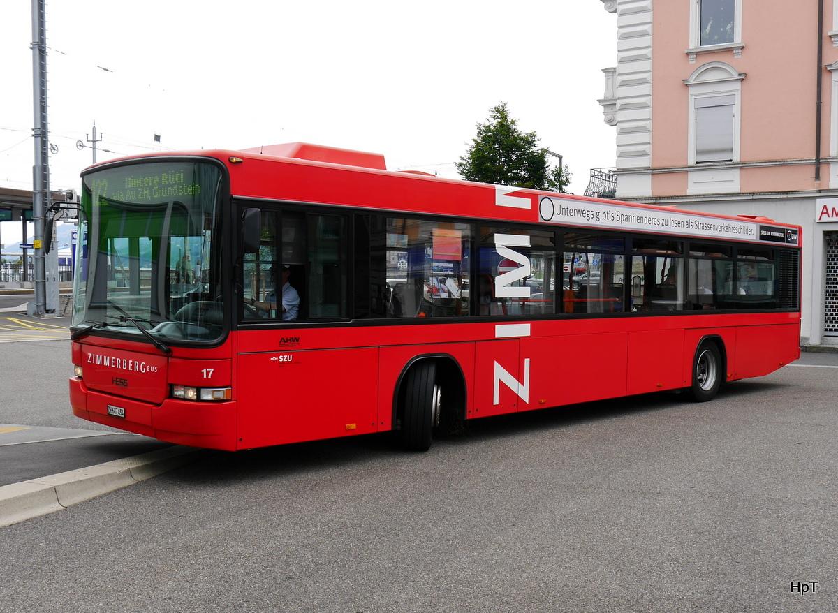Zimmerberg Bus Volvo Hess Nr 17 Zh 687454 Unterwegs Auf