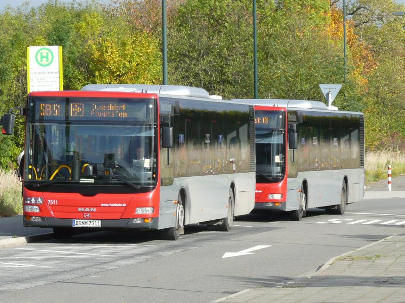der rheinbahn am flughafen d sseldorf bahnhof bus. Black Bedroom Furniture Sets. Home Design Ideas
