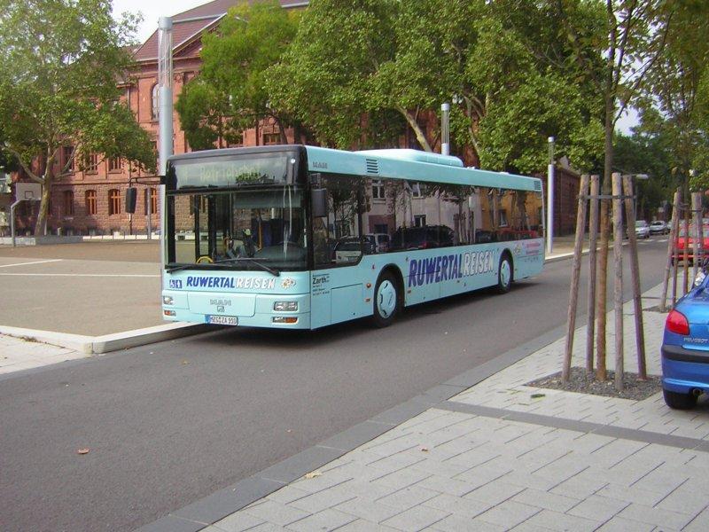 auch auf diesem foto ist ein man bus von ruwertal reisen zu sehen der bus wurde am. Black Bedroom Furniture Sets. Home Design Ideas