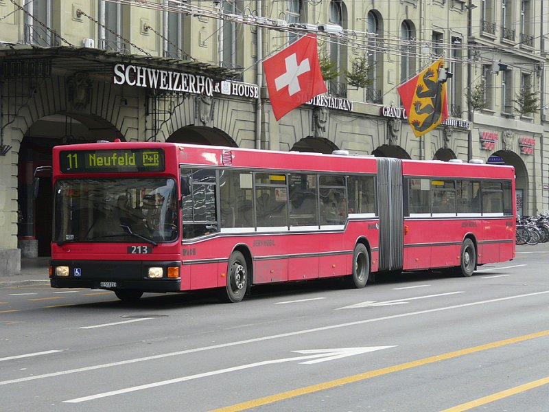 bern mobil man bus be 513213 unterwegs auf der linie 11 in bern am bus. Black Bedroom Furniture Sets. Home Design Ideas