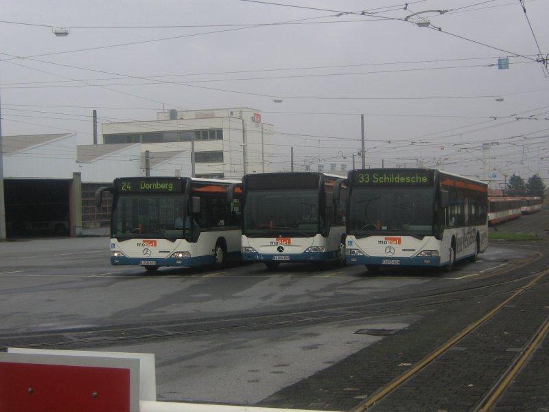 Busse Auf Dem Betriebshof Sieker Der Mobiel Gmbh V Bus Bildde