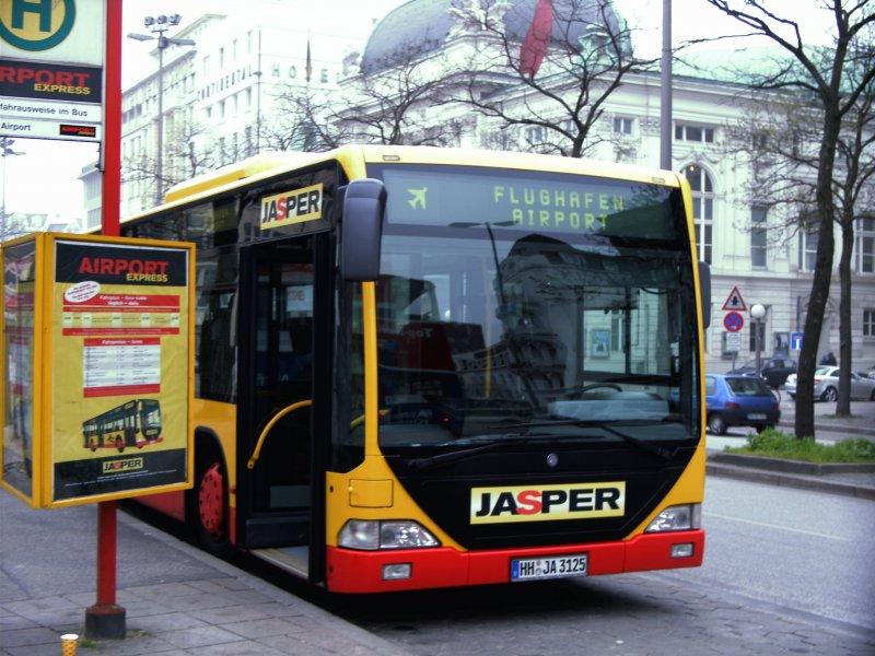luder nummer bus hamborg lufthavn