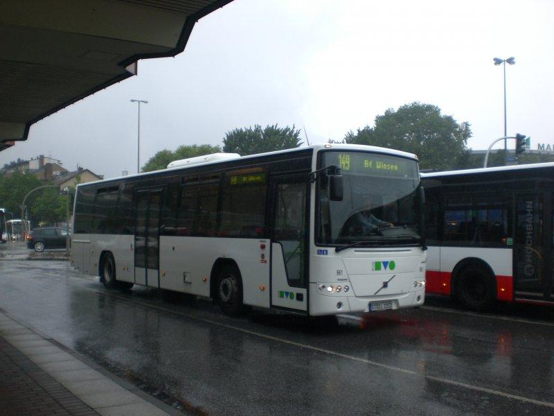 volvo 8700 auf der linie 149 nach bahnhof winsen am s bahnhof harburg bus. Black Bedroom Furniture Sets. Home Design Ideas