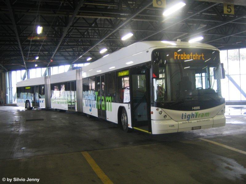 Hess hybrid lightram am im depot steinachstrasse for Depot st gallen