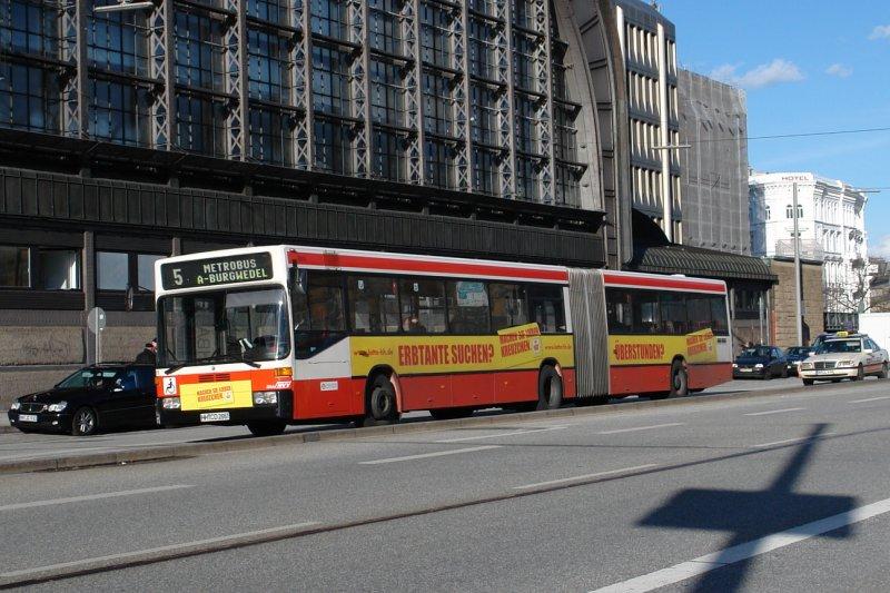hha 7311 auf der metrobus linie 5 nach a burgwedel am hbf hamburg werbung lotto hamburg m rz. Black Bedroom Furniture Sets. Home Design Ideas