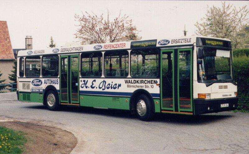ikarus 415 wagen 11 9101 der autobus sachsen im fr hjahr 1994 bus. Black Bedroom Furniture Sets. Home Design Ideas