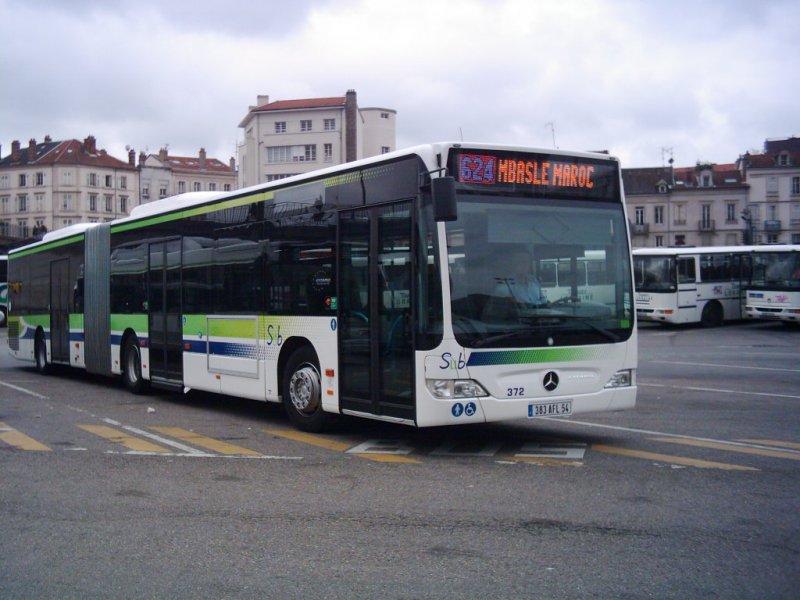 Mercedes-Benz Citaro (O 530 G), Wagen 372 in Nancy