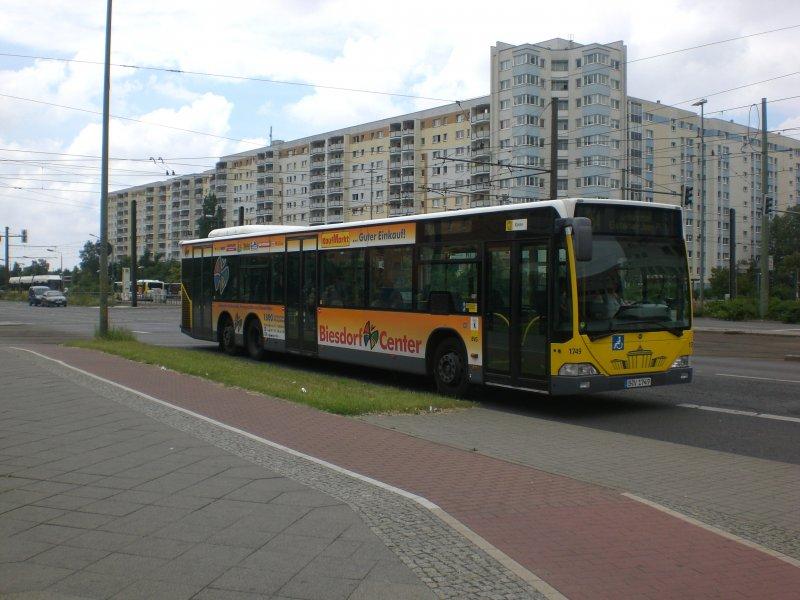 mercedes benz o 530 i citaro auf der linie 154 nach u bahnhof elsterwerdaer platz an der. Black Bedroom Furniture Sets. Home Design Ideas