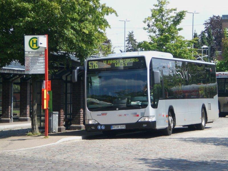 mercedes benz o 530 ii citaro facelift auf der linie 576 nach u bahnhof ahrensburg west am. Black Bedroom Furniture Sets. Home Design Ideas