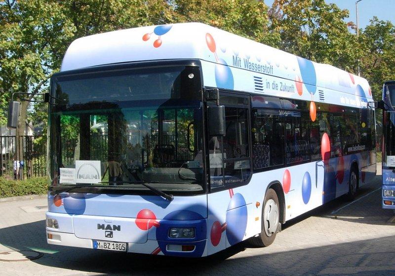 bus aus m nchen mit wasserstoffantrieb in f rth bus. Black Bedroom Furniture Sets. Home Design Ideas