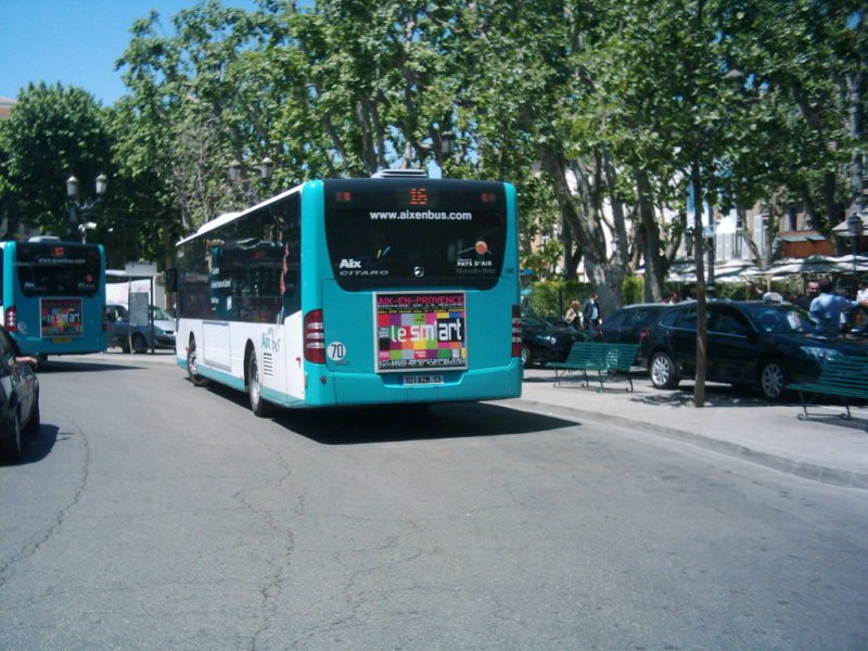 neuer citaro in aix en provence s dfrankreich bus. Black Bedroom Furniture Sets. Home Design Ideas