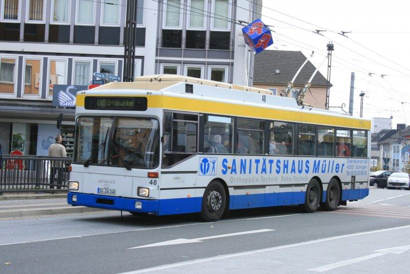o buswagen 48 nach wuppertal vohwinkel am zon solingen stadtmitte bus. Black Bedroom Furniture Sets. Home Design Ideas
