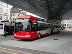 Stadtbus Winterthur - Solaris  Trolleybus Nr.171  unterwegs auf der Linie 1 in Winterthur am 11.05.2016