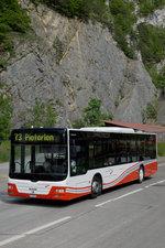 ASm: ASm Bus der Linie 73 nach Pieterlen unterwegs bei Reuchenette-Péry am 26. Mai 2016. Foto: Walter Ruetsch
