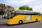 Mercedes Tourismo von der Bustouristik Herbert aus der BRD in Krems gesehen.