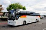 Mercedes Tourismo von Eurolines aus Italien in Krems gesehen.