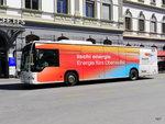 Postauto / Ortsbus Brig - Mercedes Citaro  VS  241962 vor dem Bahnhof Brig am 16.07.2016