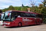Setra 416 GT-HD von TaBu Reisen aus der BRD in Krems.