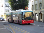 VB Biel 06.08.2016- Trolleybus Nr.51 unterwegs in Nidau am