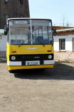 Ikarus 260 in den Gera. Foto am 28.04.2012