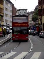 MAN Doppeldecker am 08.09.13 in Frankfurt am Main