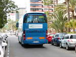 14.01.2018,MAN Irizar in Playa del Ingles/Gran Canaria.