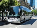 SC Sandhausen 1916 Mercedes Benz Travego am 17.08.16 in Frankfurt am Main