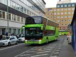 Flixbus Setra 4000er Doppeldecker am 21.10.17 in Frankfurt am Main