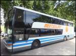 Van Hool TD927 von Meetjesland aus Belgien in London am 26.09.2013