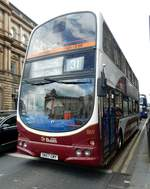 Doppelstock Stadtbus am 02.06.17 in Edinburgh
