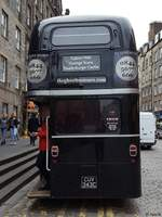 AEC Routenmaster von The ghost bus tours in Schottland 2017