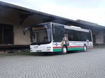 MAN MN 223.2 Lion´s City M - FG RM 603 - Wagen 1039 - in Nossen, am alten Bahnhof - am 21-April 2016